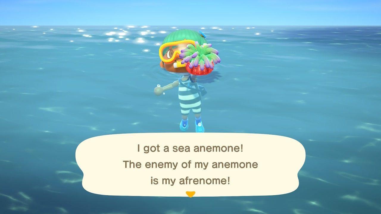 Animal Crossing: New Horizons sea creatures