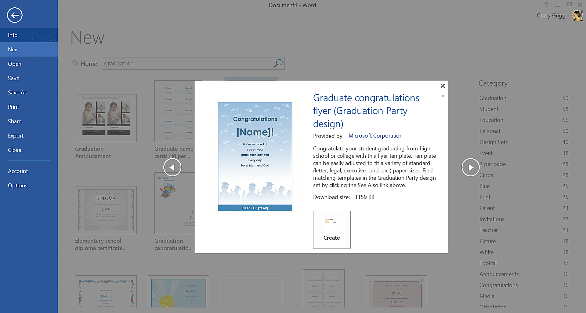 Get Microsoft S Best Graduation Templates