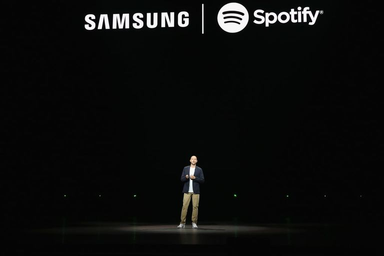 Samsung Spotify partnership