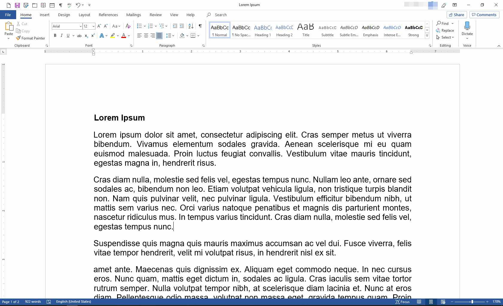 MS Word with PDF file open