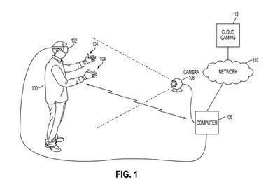 Sony U.S. patent drawing 10695665