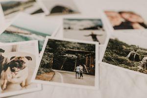 Series of printed photo