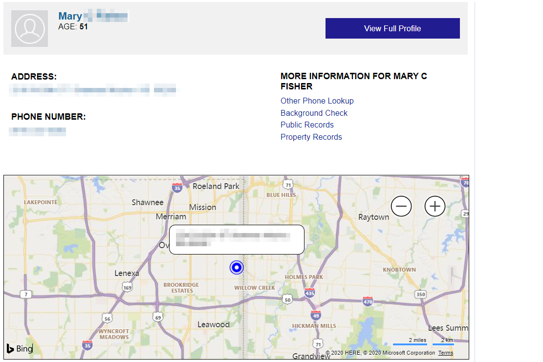 ZabaSearch phone finder using name