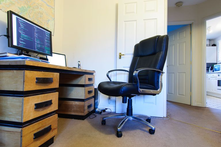 A home office