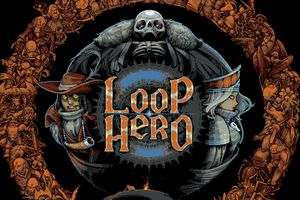 The cover art for the 'Loop Hero' video game.