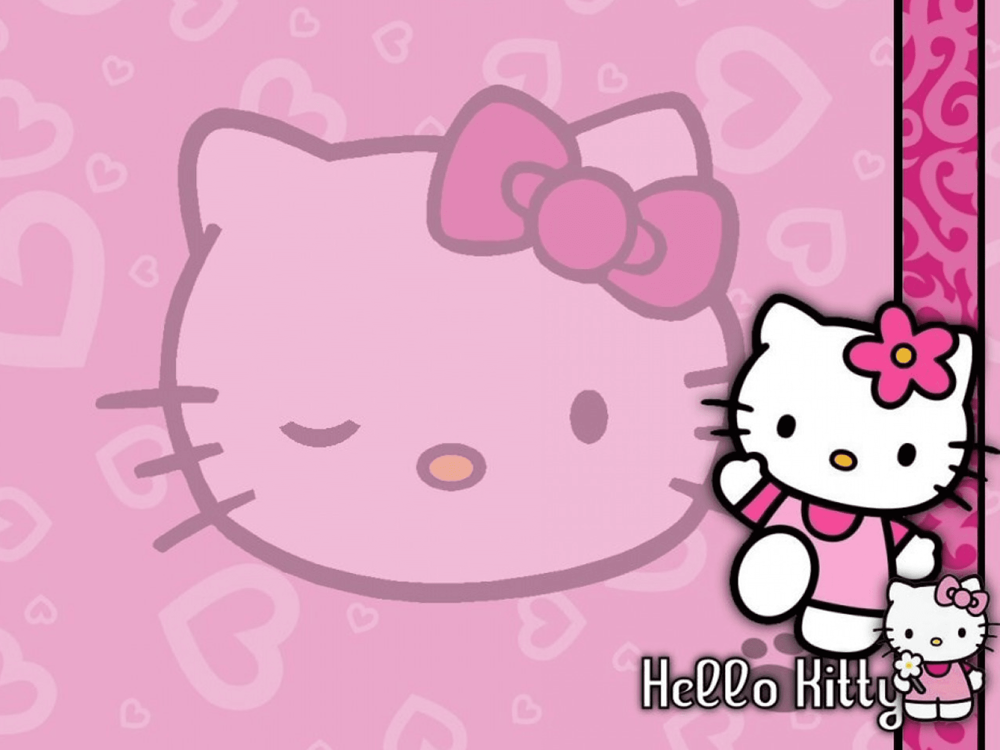 Download Wallpaper Hello Kitty 3d HD