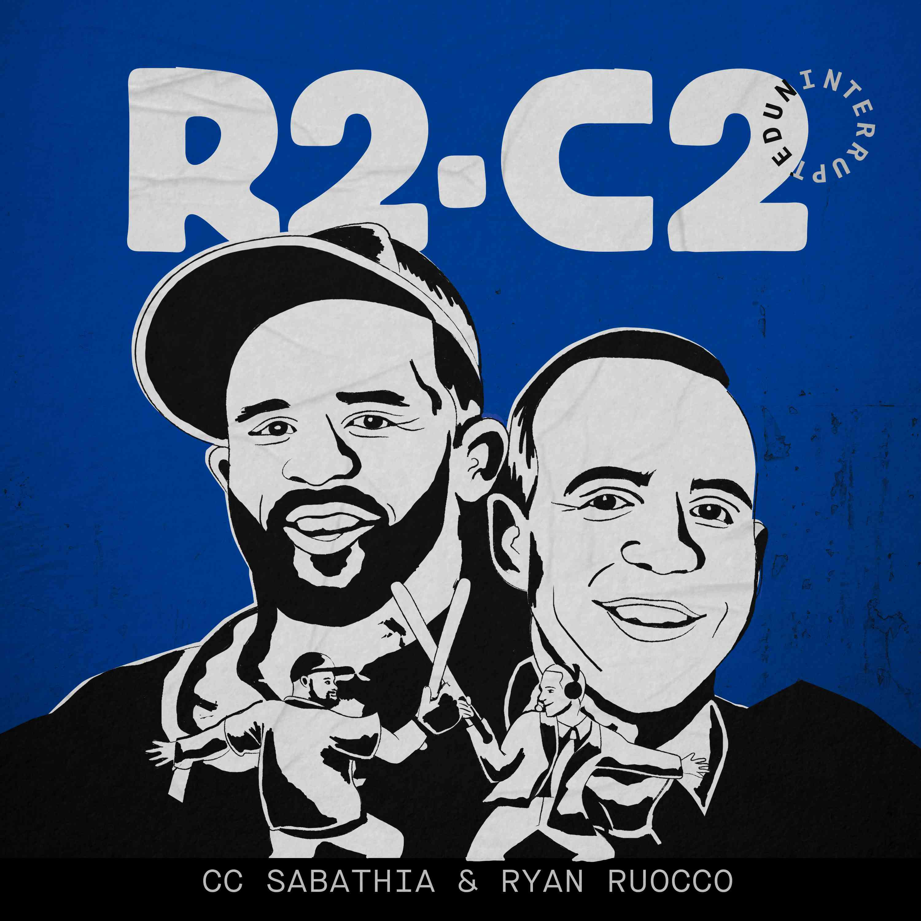 Logo for the podcast R2-C2 is UNINTERRUPTED