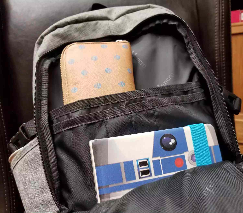 Mancro Anti-Theft Laptop Backpack