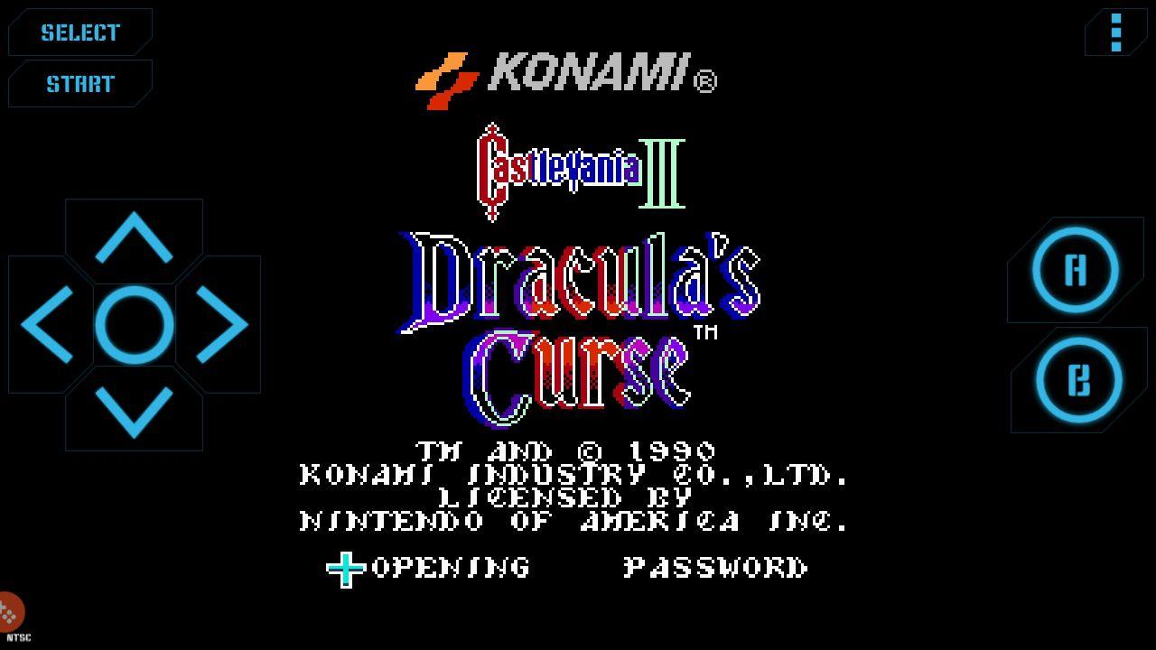 Castlevania 3 on Nostalgia.NES for Android