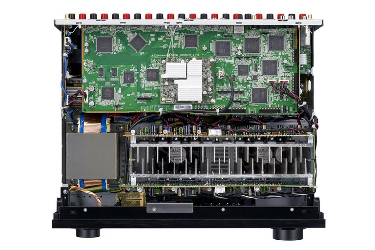 Denon AVR-X4300H Home Theater Receiver - Inside View