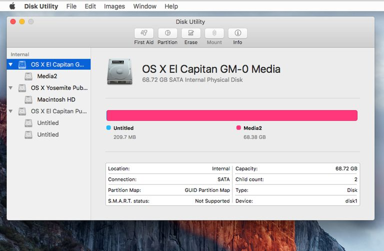 Partition a drive with os x el capitans disk utility ccuart Gallery