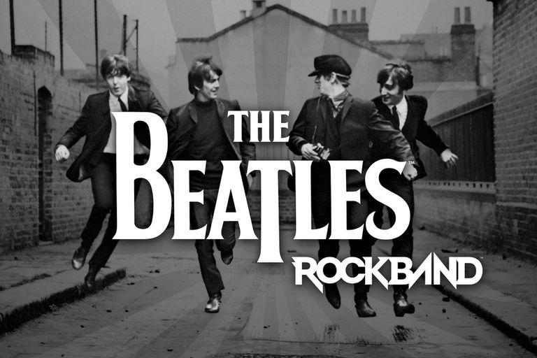 Beatles Rock Band logo