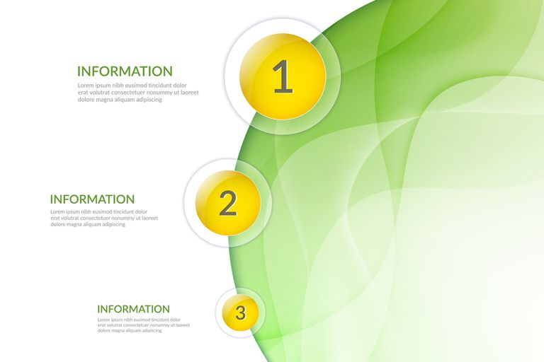 Abstract background for presentations and infographics.