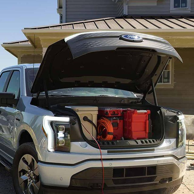 2022 Ford F150 front trunk.