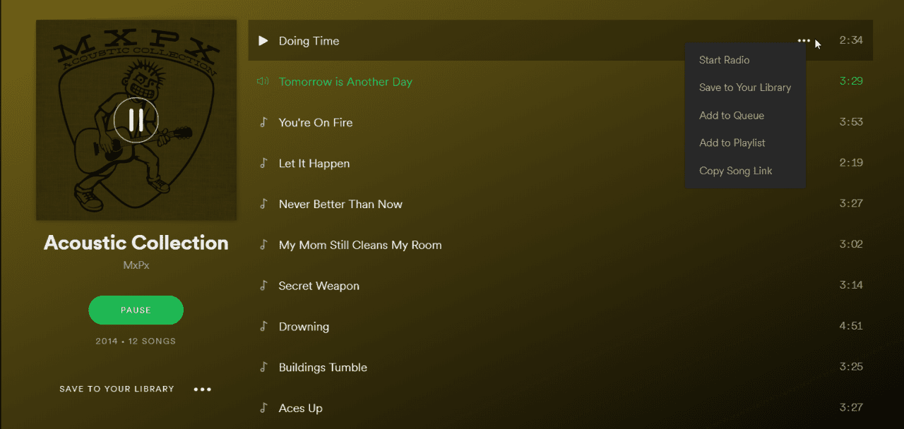How to Use The Spotify Web Player