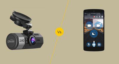 Dash cam vs dash cam app