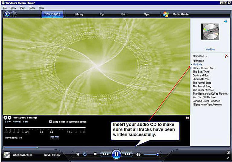 how to play my cd music windows 7
