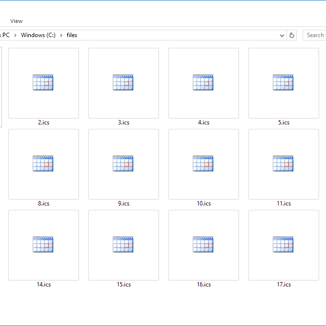 ICS File (What It Is & How to Open One)