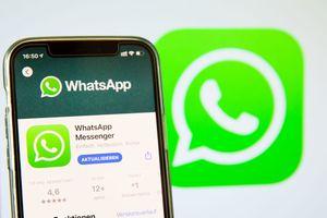 WhatsApp App in the IOS App Store on May 03, 2021 in Bargteheide, Germany. (Photo by Katja Knupper/Die Fotowerft/DeFodi Images)