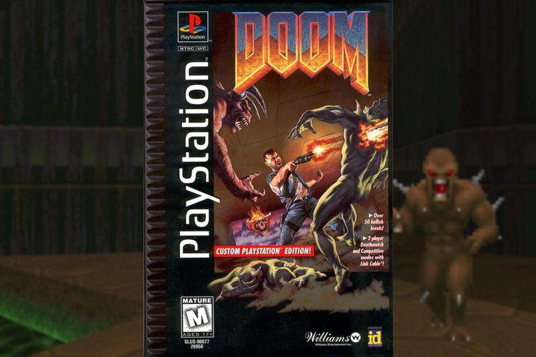 Original <b>DOOM Cheat Codes</b> on the PlayStation