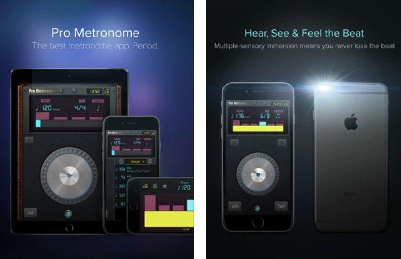 Metronome iPad app