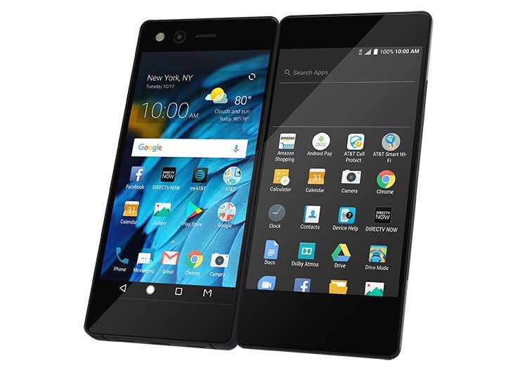 The ZTE Axon M dual screen, foldable phone.
