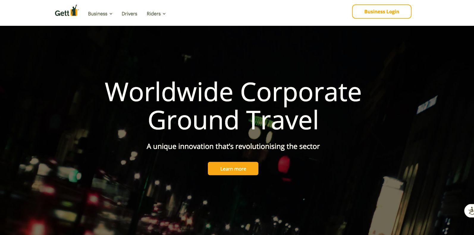 Gett Business Travel app