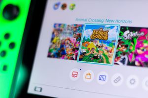 animal crossing new horizons on the switch