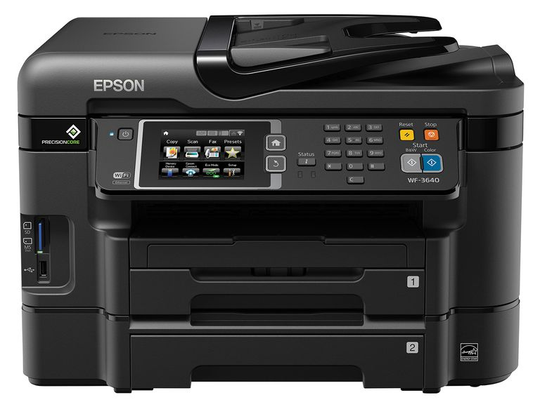Epson WF-3640 All-in-One Printer