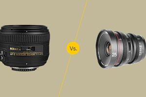 Autofocus vs. manual focus