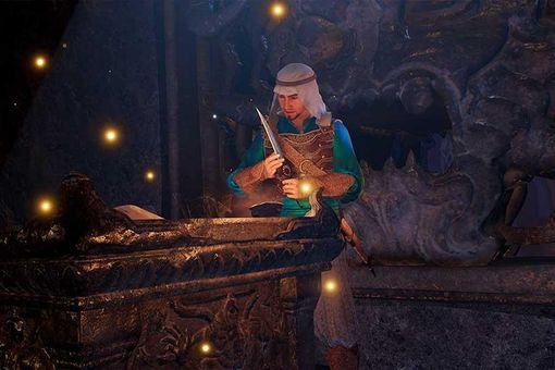 Screenshot from the Prince of Persia: Sands of Time