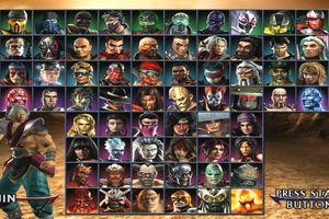 Screenshot of Mortal Kombat: Armageddon