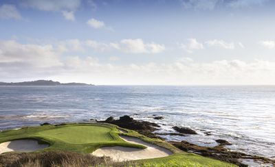 Pebble Beach golf course, site of the 119th US Open golf live stream.