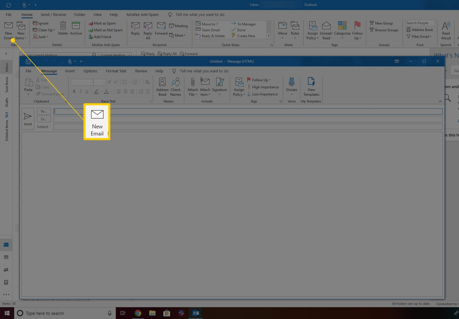 How to Send an Email With Any From: Address in Outlook