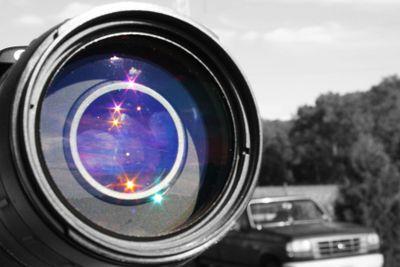 Close-Up photo of a camera lens