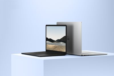 A photo of the Microsoft Surface Laptop 4