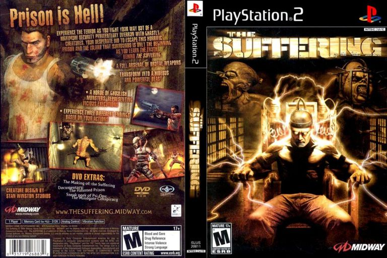 The Suffering PS2 product artwork