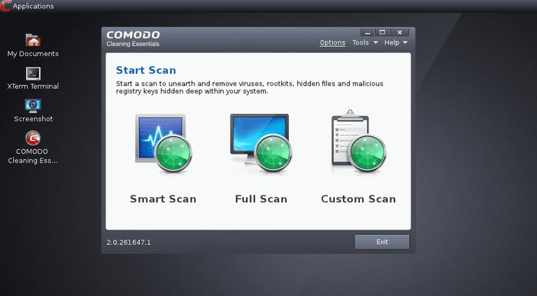 Comodo Rescue Disk v2