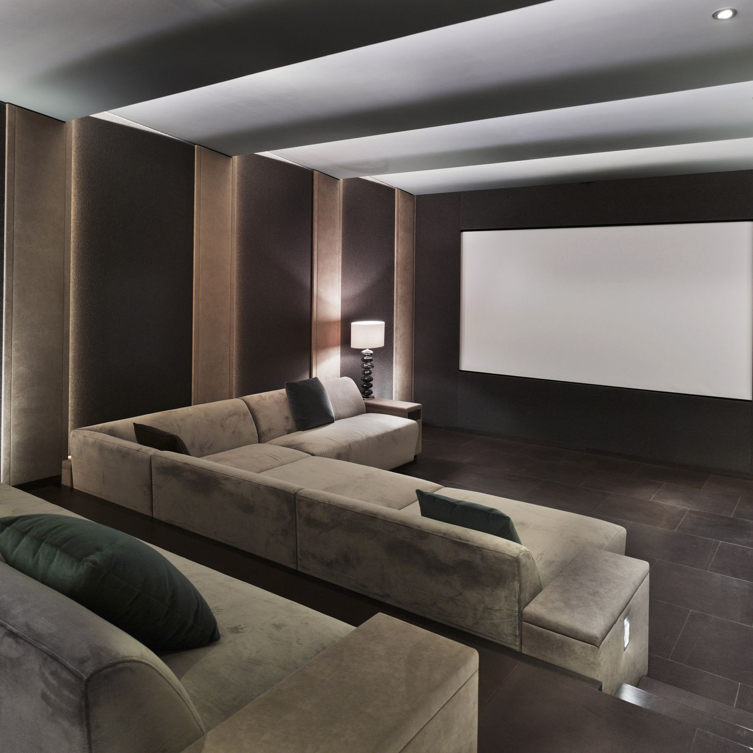 The 8 Best Home Theater Seating Options of 2019 Sloped Ceiling Design Home Theatre on coved ceiling designs, flat ceiling designs, angled ceiling designs, coffered ceiling designs, small ceiling designs, tilted ceiling designs, slanted ceiling designs, open ceiling designs, vaulted ceiling designs, slanting ceiling designs, commercial ceiling designs, square ceiling designs, kitchen ceiling designs, ceiling fan designs, corner ceiling designs, metal ceiling designs, beadboard ceiling designs, interior ceiling designs, curved ceiling designs,