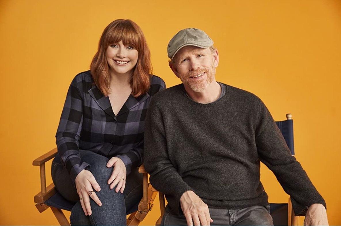 Bryce Dallas Howard and Ron Howard in 'Dads.'