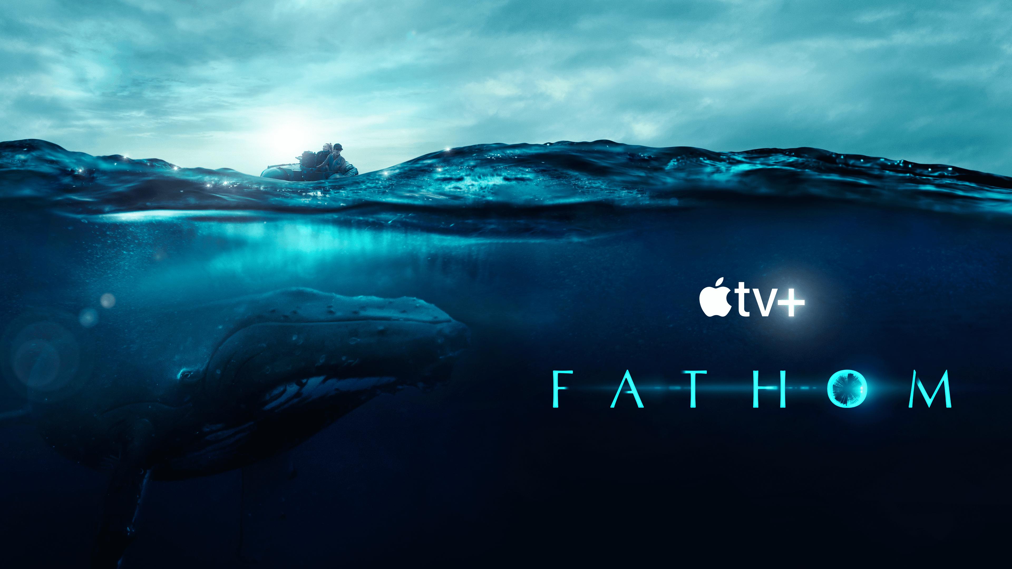 Key art for the Apple TV documentary 'Fathom'