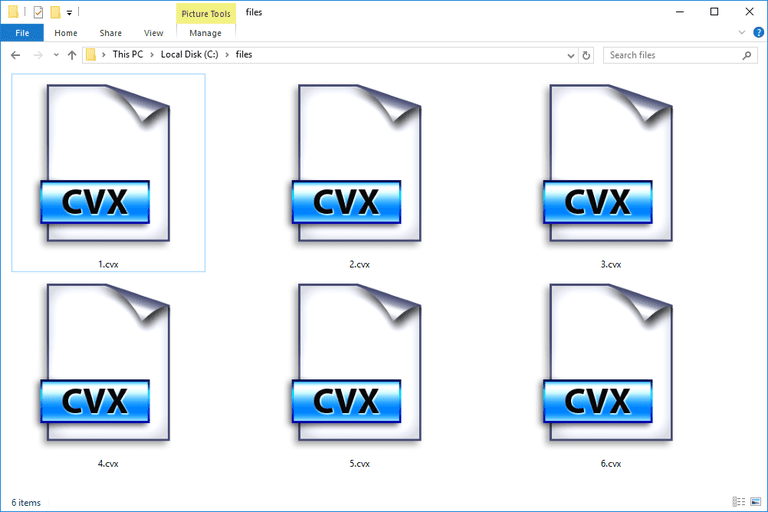 CVX File (What It Is & How to Open One)