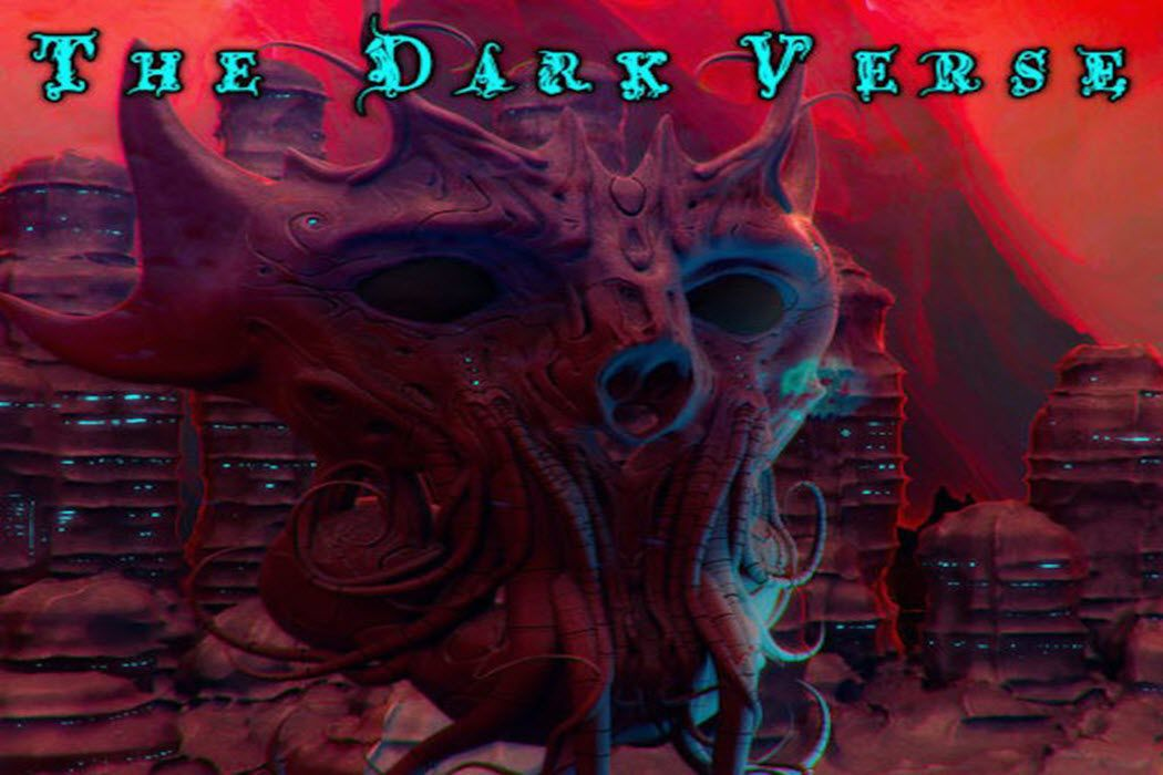 Podcast art for the podcast, The Dark Verse.