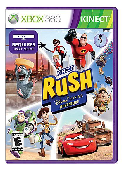 Kinect Rush disney pixar adventure microsoft