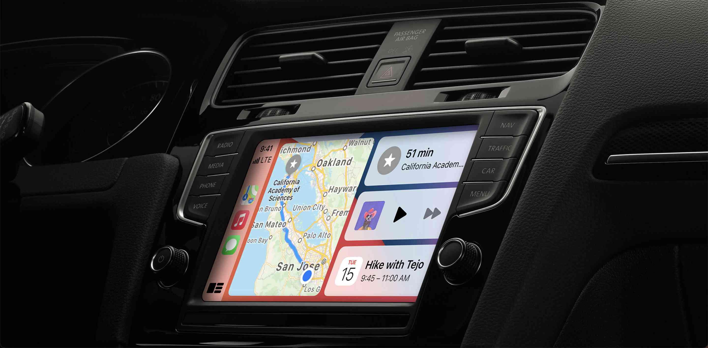 CarPlay dashboard