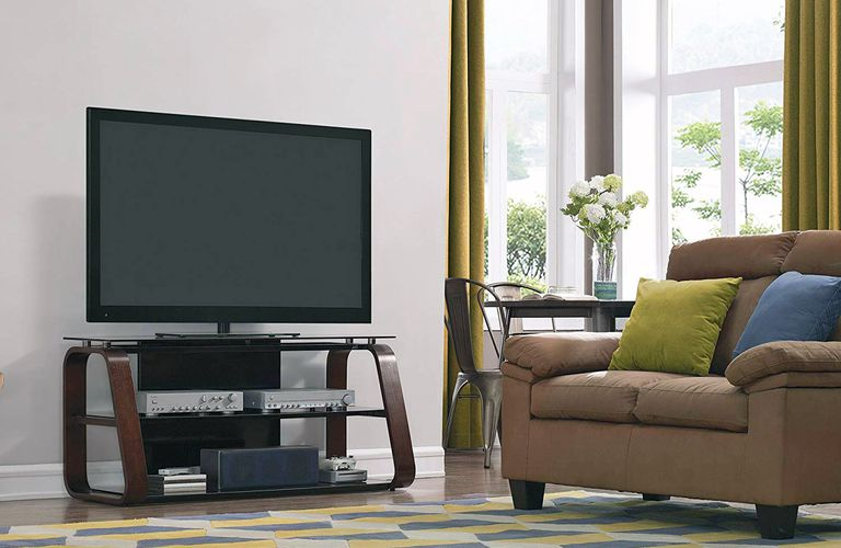 Bell'O CW342 Wood TV Stand — Lifestyle Image