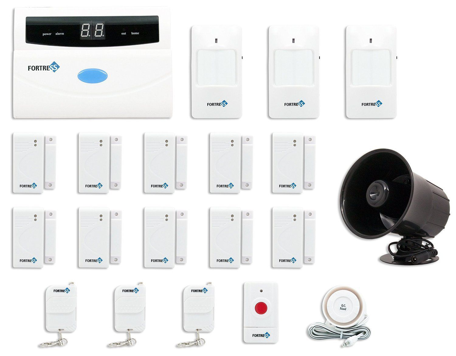 Top Rated Home Security Systems >> The 7 Best Integrated Home Security Systems Of 2019