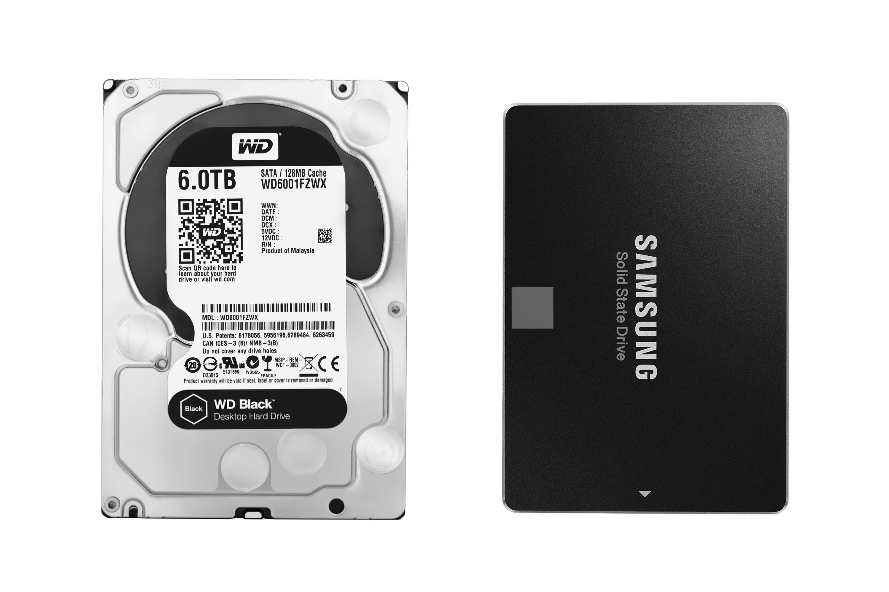 Image result for hard disk vs ssd