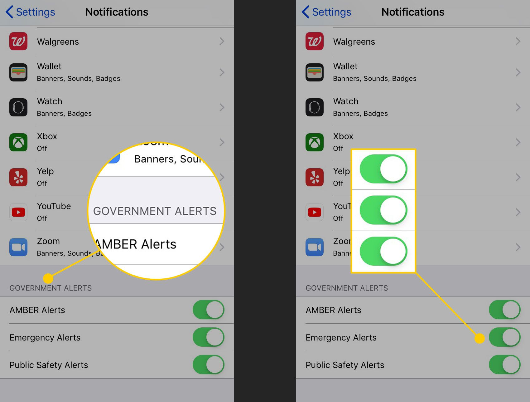 How to Turn Off Emergency and Amber Alerts on iPhone