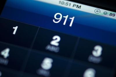 Call to 911 dialed on cellphone